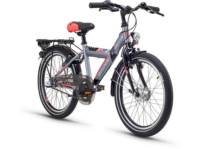 s'cool XYlite 20 3-S Børnecykel steel grå (2019)   City-cykler